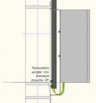 Распределительный шкаф с защитным футляром