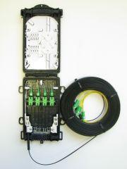 Дроп муфта с навивным кабелем